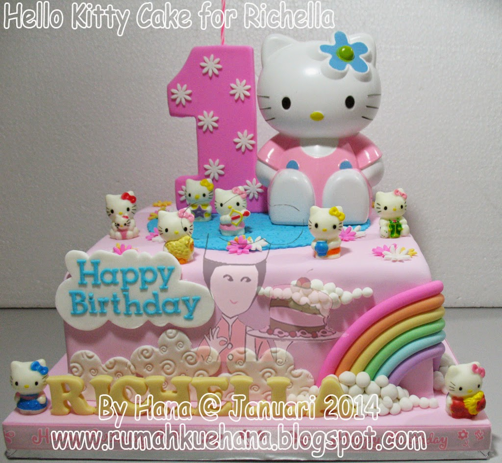 Lihat Rumah Hello Kitty Rumah Kue Hana Hello Kitty Cake For Richella