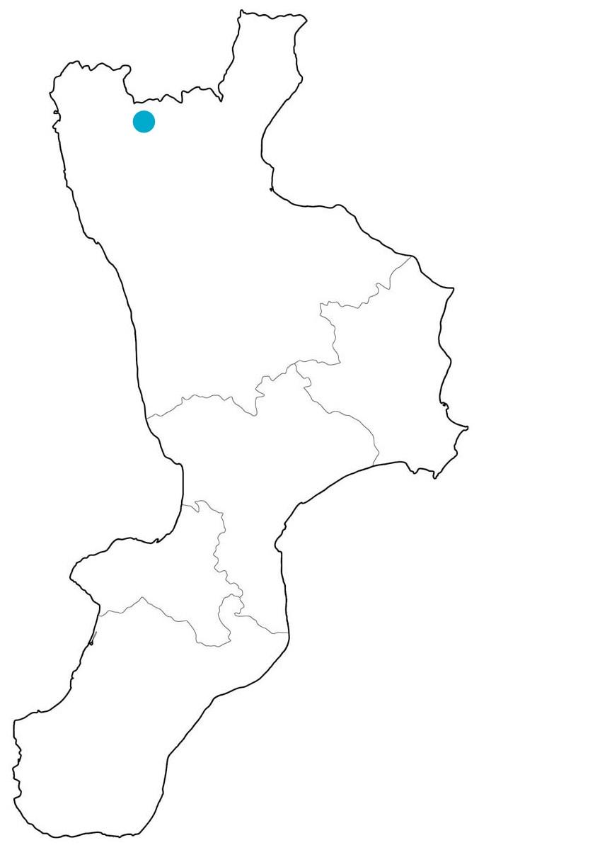 Cartina Calabria Muta.Medieval Routes In Calabria