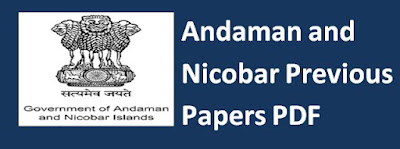 Andaman and Nicobar Previous Papers