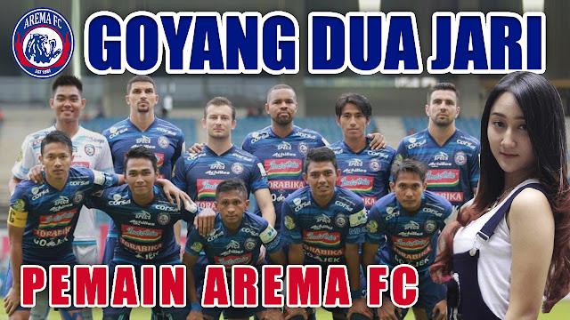 LIRIK GOYANG DUA JARI VERSI PEMAIN AREMA FC | COVER PARODI