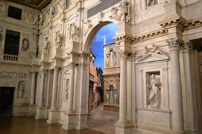 teatro olimpico-Vicenza-Palladio