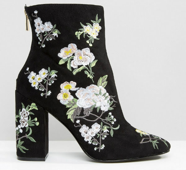 miss selfridge athena ankle boots