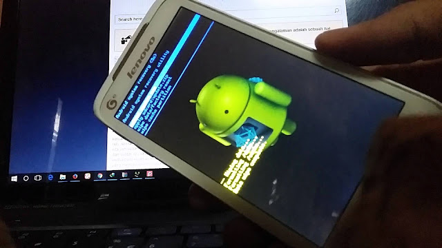 Cara Hard Reset Android Lenovo A398t dengan mudah