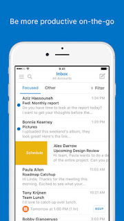 ms outlook for iphone