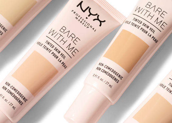 NYX Bare With Me Tinted Skin Veil Review Photos