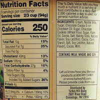 click for nutrition facts or ingredients