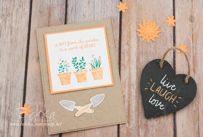 A Gift From The Garden Card - Buy Stampin' Up! UK here or Join here for the big discounts