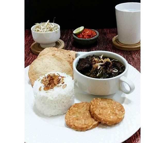 resep rawon sederhana, masakan rawon, rawon enak