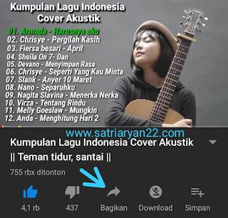 Kumpulan Lagu Indonesia Cover Akustik
