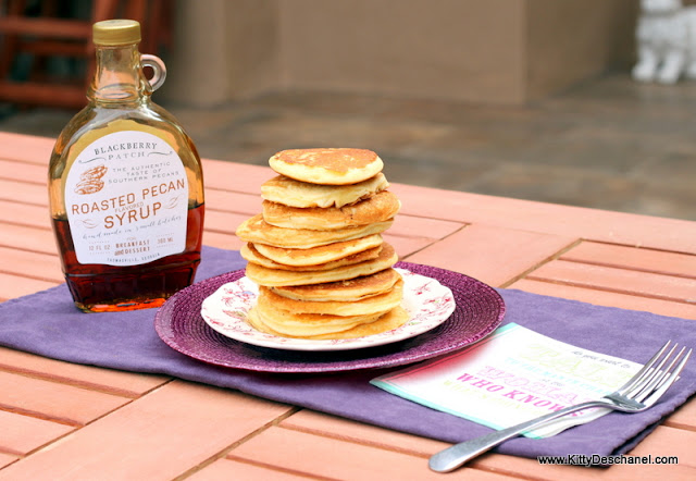 pretty photo of pancakes