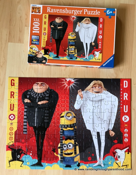 Despicable Me 3, 100 Piece Puzzle Review