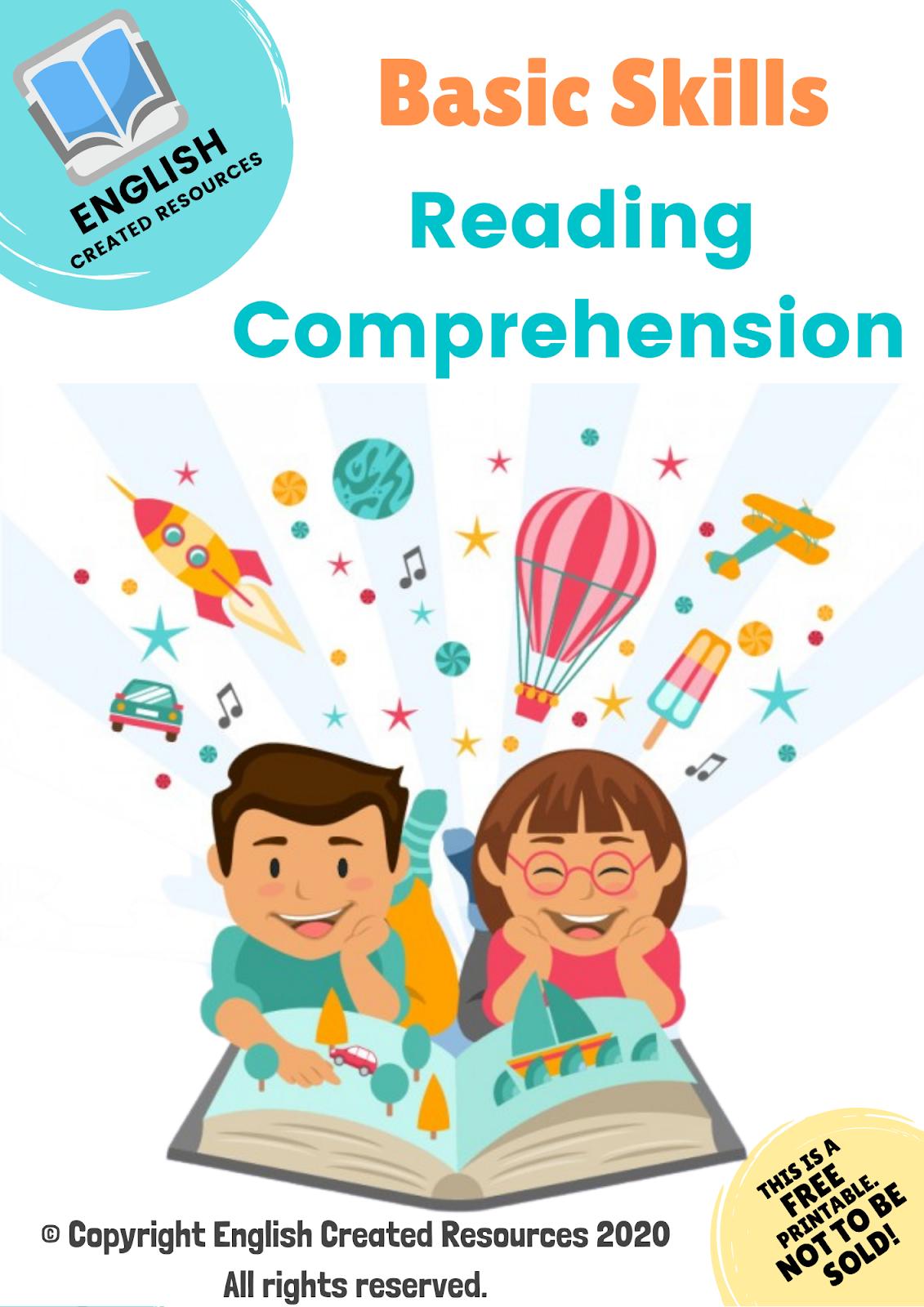 Basic Skills Reading Comprehension Worksheets