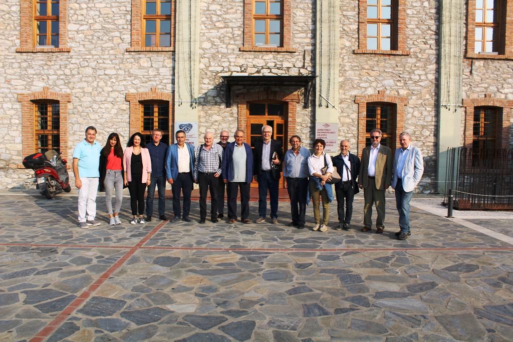 Προετοιμασίες για το μεγάλο συνέδριο των σημαντικών πόλεων της Ευρώπης στη Λάρισα