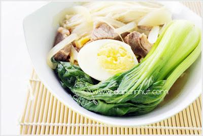membuat kuah ramyun korea