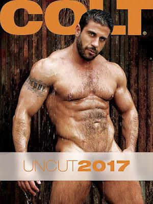 Colt Uncut 2017 Calendar Gayrado Online Shop