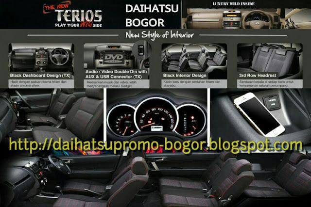 Interior terios, Interior mobil terios, Interior Daihatsu terios, Interior mobil