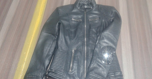 Fashion leather jackets for fashion Ladies made of Sheep softy
