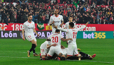 Crónica Sevilla FC 3 - Atlético de Madrid 1