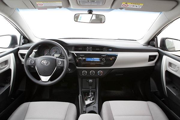 Interior Toyota Corolla