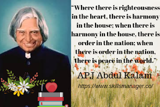 """Where there is righteousness in the heart, there is harmony in the house; when there is harmony in the house, there is order in the nation; when there is order in the nation, there is peace in the world."""