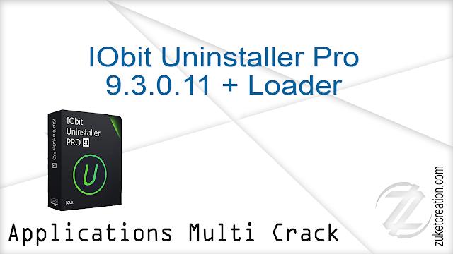 IObit Uninstaller Pro 9.3.0.11 + Loader