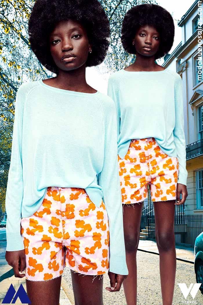 Blusa de moda verano 2022 ropa de mujer