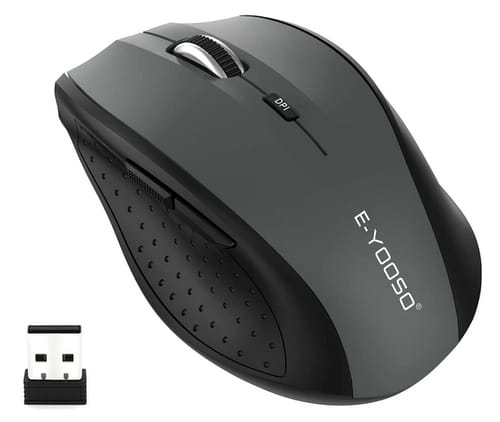 E-YOOSO Portable 2.4G Ergonomic Wireless Optical Mouse