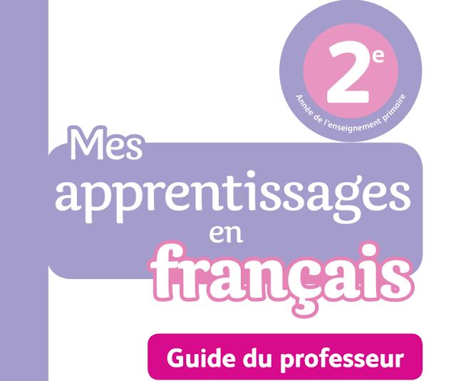 télécharger Guide Mes apprentissages en français  2AP 2018