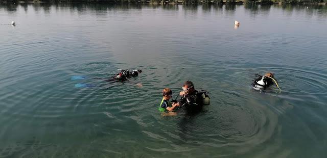 Potápení na Istrii