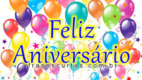 Frases E Imagens De Feliz Aniversario Frases Curtas