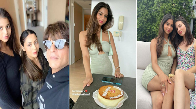 Shah Rukh Khan's daughter celebrates her 21st birthday at a time when the whole country is suffering from covid!