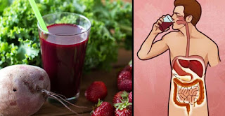 Beetroot And Lemon Juice Cleanses The Waste Of The Colon