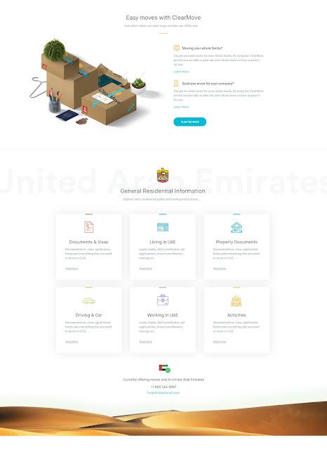 Clearmove Homepage
