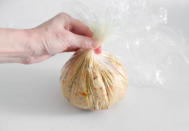Морковный пирог сырный шарик