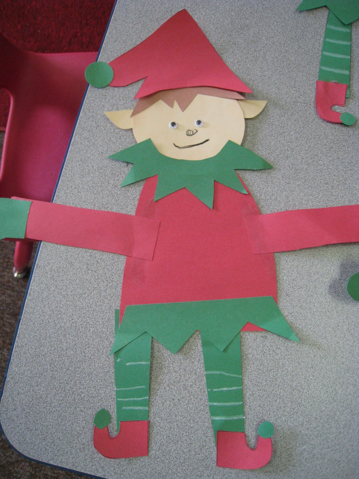 Mrs russell 39 s class elf activities for Arts and crafts ideas for couples