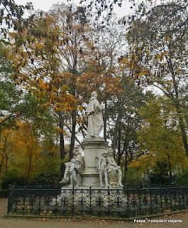 Tiergarten, o parque de Berlim