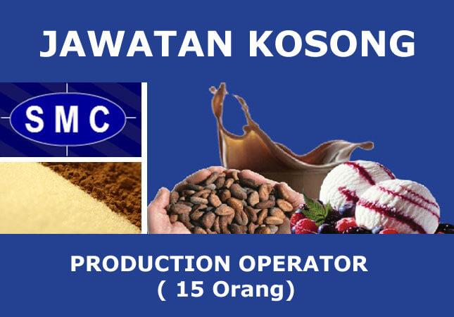 Jawatan Kosong Production Operator di Pelabuhan Tanjung Pelepas Johor