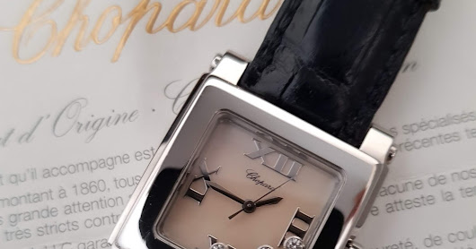 [FOR SALE] CHOPARD HAPPY SPORTS SQUARED