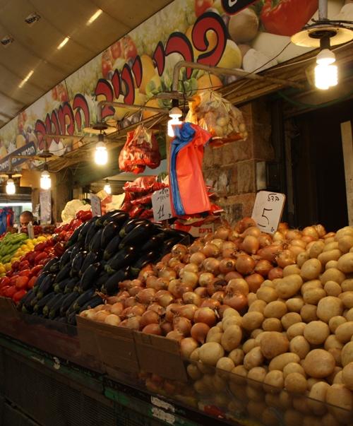 jerusalem market stand