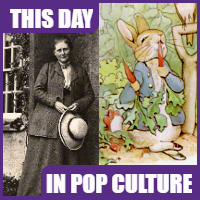Beatrix Potter was born on July 28, 1866.