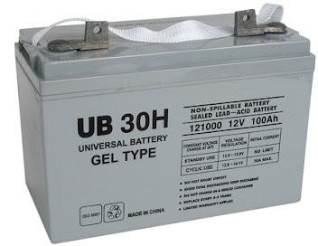 Aki tipe gel (Gel cell battery)