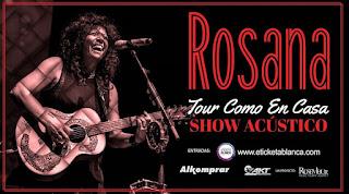 Concierto de ROSANA en Bogotá 2018