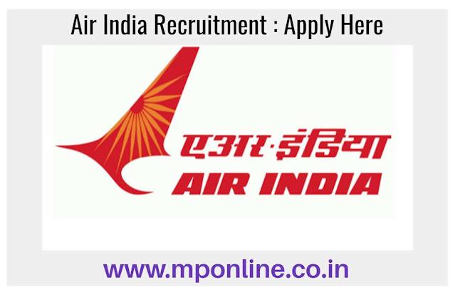 Air India Vacancy 2020