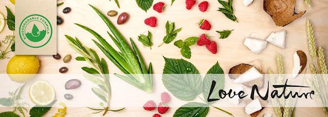 Новая ухаживающая серия Love Nature от Oriflame