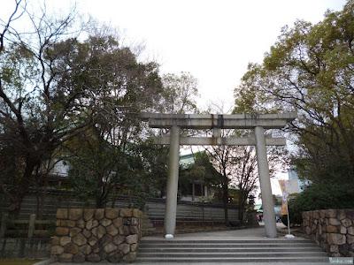 豊國神社鳥居