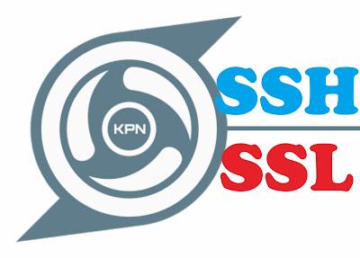 Cara Membuat Akun SSH Support SSL Gratis Selamanya untuk KPN Tunnel Revolution