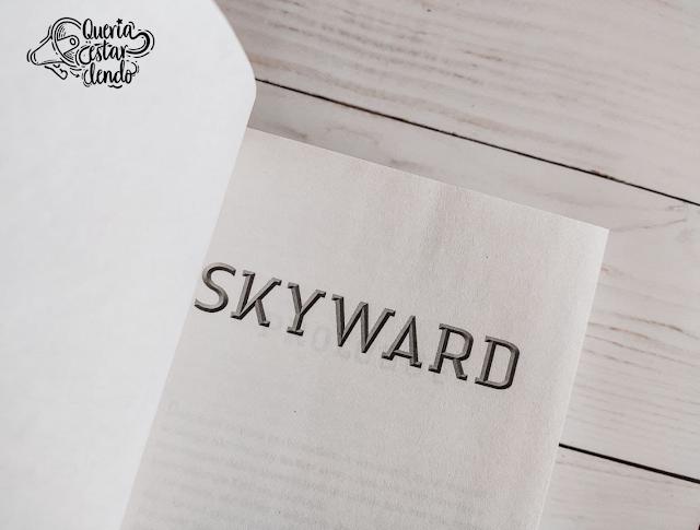 Resenha: Skyward - Brandon Sanderson
