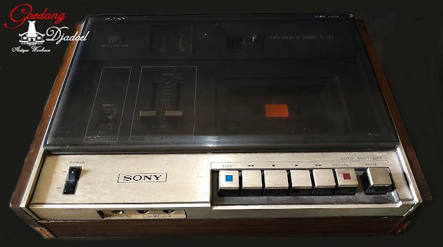 radio antik merk sony model tc129
