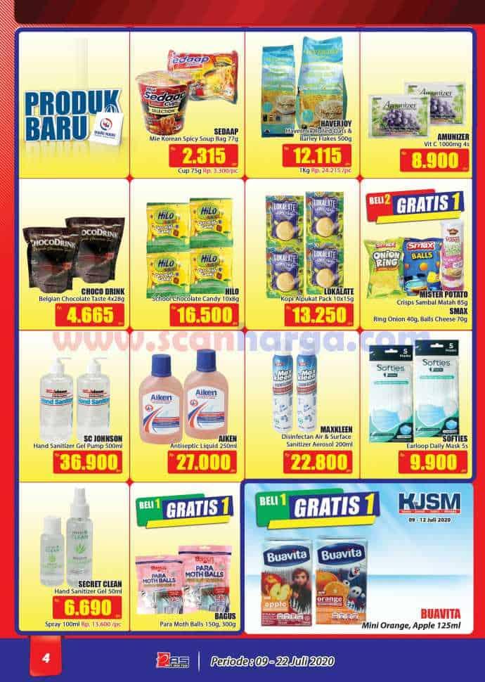 Katalog Promo Hari Hari Pasar Swalayan 9 - 22 Juli 2020 4