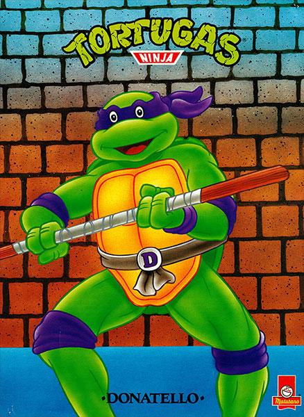 Póster Las Tortugas Ninja nº 13
